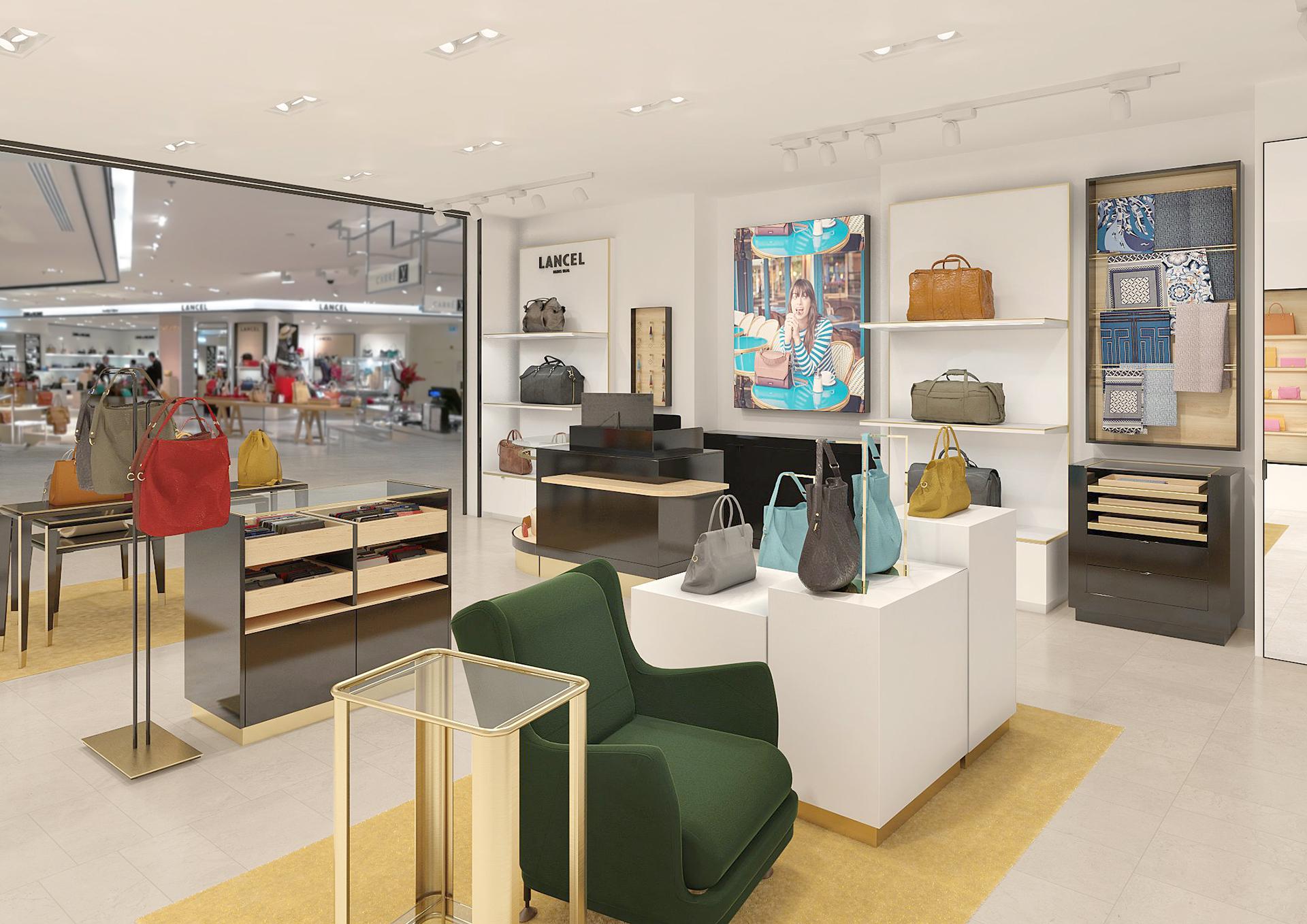 Modélisation 3D de l'intérieur d'un magasin